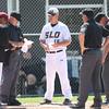 5/18/182:12:47 PM --- San Luis Obispo High School baseball beat Oxnard High School 6-0 in the CIF playoffs at San Luis Obispo High School in San Luis Obispo, CA on May 18, 2018. <br /> <br /> Photo by Owen Main