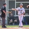 5/18/182:12:15 PM --- San Luis Obispo High School baseball beat Oxnard High School 6-0 in the CIF playoffs at San Luis Obispo High School in San Luis Obispo, CA on May 18, 2018. <br /> <br /> Photo by Owen Main