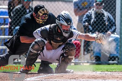 5/18/182:21:46 PM --- San Luis Obispo High School baseball beat Oxnard High School 6-0 in the CIF playoffs at San Luis Obispo High School in San Luis Obispo, CA on May 18, 2018.   Photo by Owen Main
