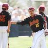 5/18/182:12:22 PM --- San Luis Obispo High School baseball beat Oxnard High School 6-0 in the CIF playoffs at San Luis Obispo High School in San Luis Obispo, CA on May 18, 2018. <br /> <br /> Photo by Owen Main