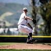 5/18/182:19:59 PM --- San Luis Obispo High School baseball beat Oxnard High School 6-0 in the CIF playoffs at San Luis Obispo High School in San Luis Obispo, CA on May 18, 2018. <br /> <br /> Photo by Owen Main