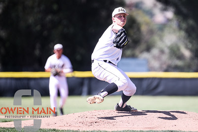 5/18/182:18:43 PM --- San Luis Obispo High School baseball beat Oxnard High School 6-0 in the CIF playoffs at San Luis Obispo High School in San Luis Obispo, CA on May 18, 2018.   Photo by Owen Main