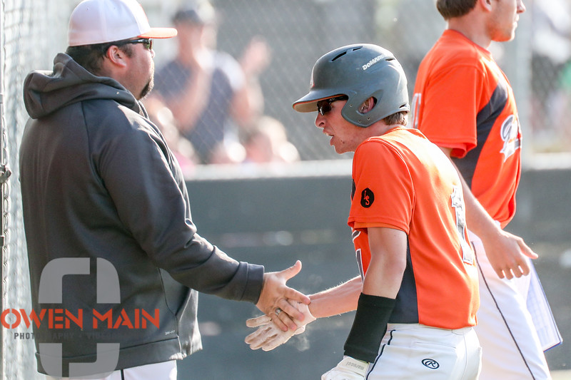 5/8/184:46:45 PM --- San Luis Obispo High School clinched a Pac 8 Championship with a win over Atascadero at Taylor Field in San Luis Obispo, CA<br /> <br /> Photo by Owen Main / Photos.Fansmanship.com