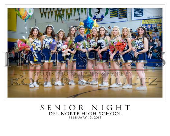 Senior Night 16 x 20