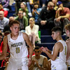 Cal Poly Men's Basketball hosted UTA. Photo by Owen Main 12/20/18