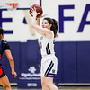Mission Prep girls basketball hosted a state playoff game in San Luis Obispo. Photo by Owen Main 3/3/20