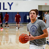Mission Prep Boys Basketball played Paso Robles at Mission Prep.  Photo by Owen Main 1/14/20