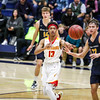 Mission Prep played San Joaquin Memorial in the opening night of the 2018 Mission Prep Christmas Classic. Photo by Owen Main 12/19/18