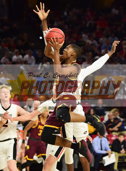 High School Boys Basketball held at Home,  Arizona on 2/21/2018.