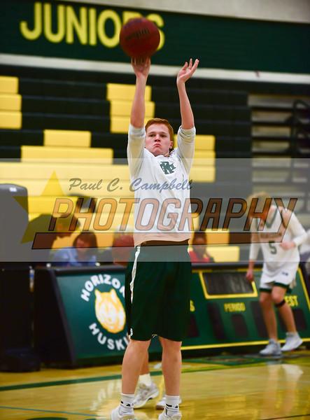 High School Boys Basketball held at Home,  Arizona on 1/23/2018.