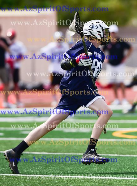 High School Boys Lacrosse held at Home,  Arizona on 3/31/2018.