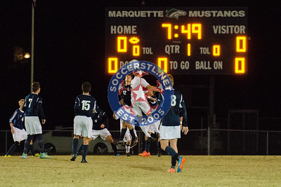 Marquette comes back to win in PK's over DeSmet in Class 4 District playoffs