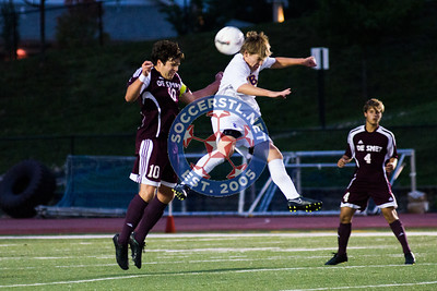 2014-09-11 DeSmet ties CBC 1-1 in High School boys soccer