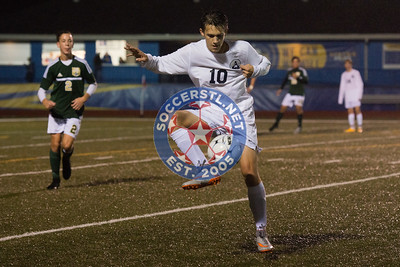 Caleb Mundle Propels Howell Central to District Final with OT Goal