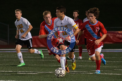 2014-08-26 Oakville Tigers tie 1-1 at Parkway West Longhorns in HS soccer