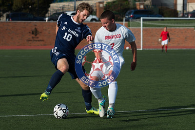 SLUH Holds Off Kirkwood in CYC play, 23 Sep 2014