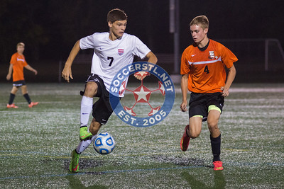 Waterloo holds off Triad for 4-3 victory in CYC Tournament semifinals, 26 Sep 2014