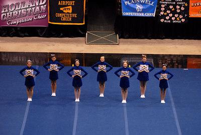 Division 2, Round 2, PR Cheer, Delta Plex, 2-10-2007