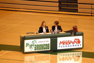 Division 3, Region 14, Round 3 at Coopersville 3-3-2007