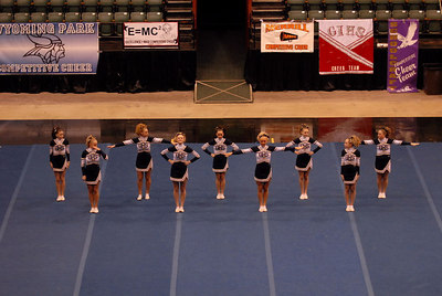 Division 3/4, Round 2, PR Cheer, Delta Plex, 2-10-2007