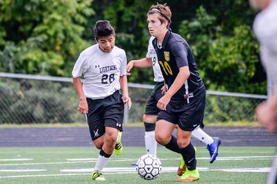 2016 JV Boys Soccer: South Carroll @ Long Reach