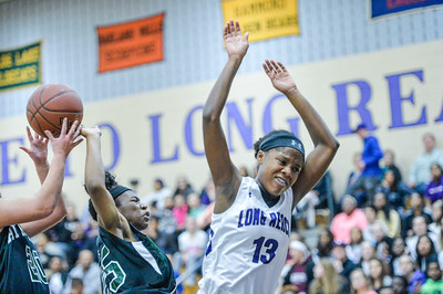 2017 Girls Basketball Playoffs: Atholton @ Long Reach