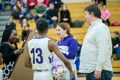 2017 Girls Basketball Senior Game: Centennial @ Long Reach