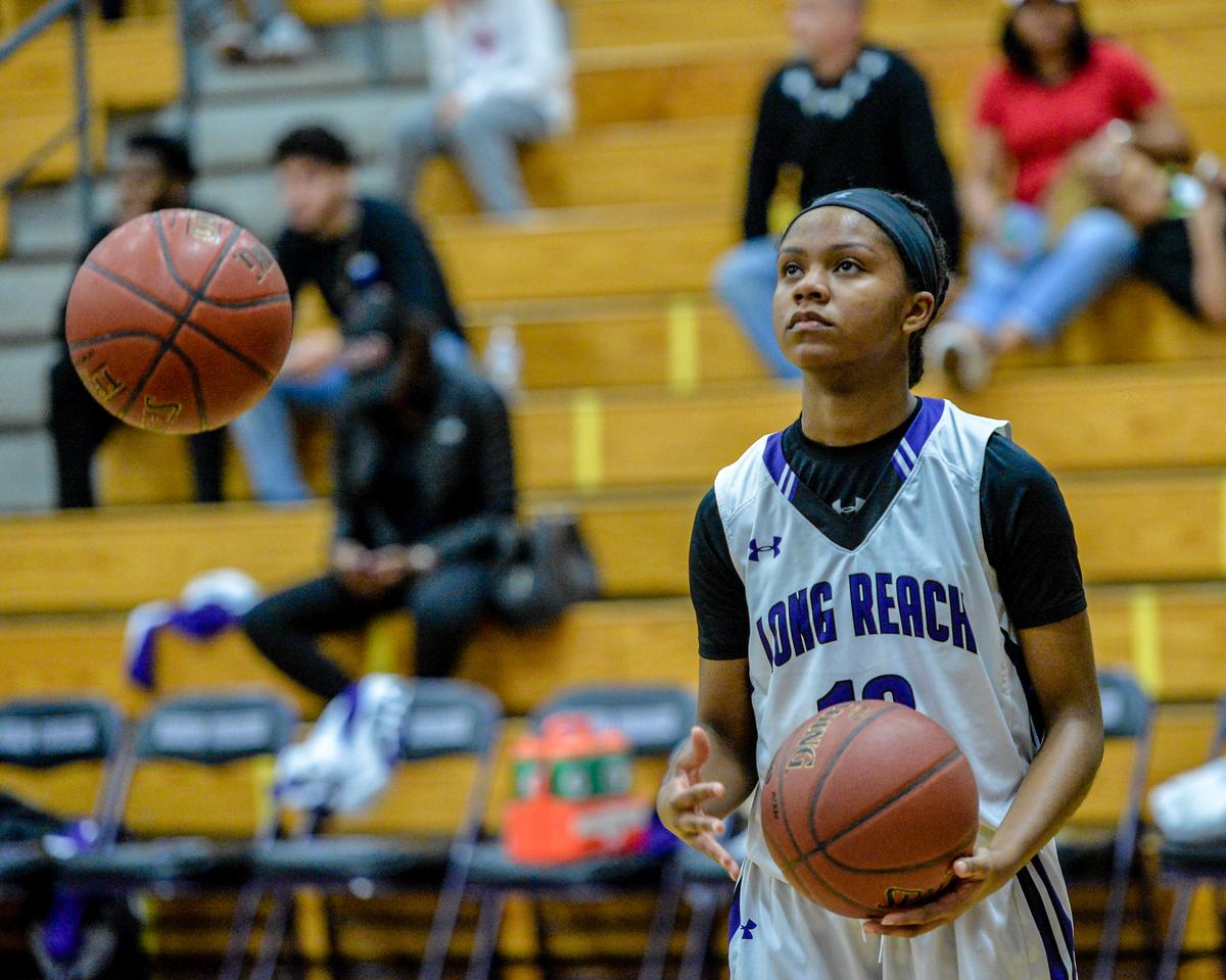 2018 Girls Basketball Playoffs: Atholton @ Long Reach
