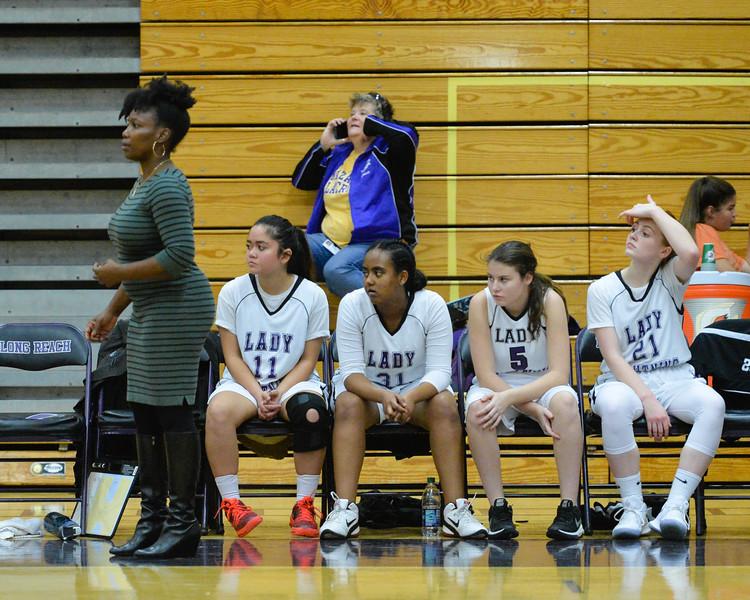2018 Girls JV Varsity Basketball: Mt Hebron @ Long Reach