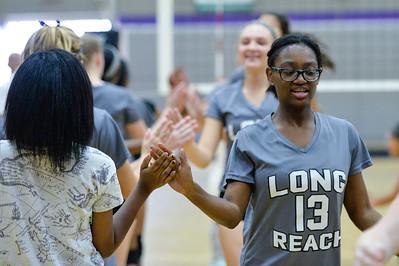 2015 Oakland Mills @ Long Reach JV Volleyball