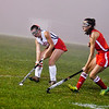 North Middlesex captain Alexis Reidy controls the ball during Tuesday's match. Nashoba Valley Voice/Ed Niser