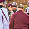Groton-Dunstable coaches go over the game plan during Saturday's game. Nashoba Valley Voice/Ed Niser