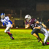 Ayer Shirley's Mick Mitrano rushes with the ball during Friday night's game. Nashoba Valley Voice/Ed Niser