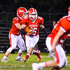 North Middlesex running back Dan DiPano looks for the hole during Friday night's game. Nashoba Valley Voice/Ed Niser