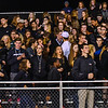 The NM Trench cheers on the Patriots during Friday night's win over Tyngsboro. Nashoba Valley Voice/Ed Niser