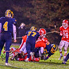 North Middlesex's Chris Johnson makes a tackle in the second half. Nashoba Valley Voice/Ed Niser