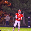 North Middlesex quarterback Joe Haskins fires a pass during Friday night's loss to Quabbin Nashoba Valley Voice/Ed Niser