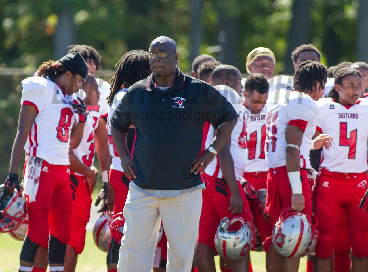 HIGH SCHOOL FOOTBALL 2014: Suitland Rams vs DuVal Tigers
