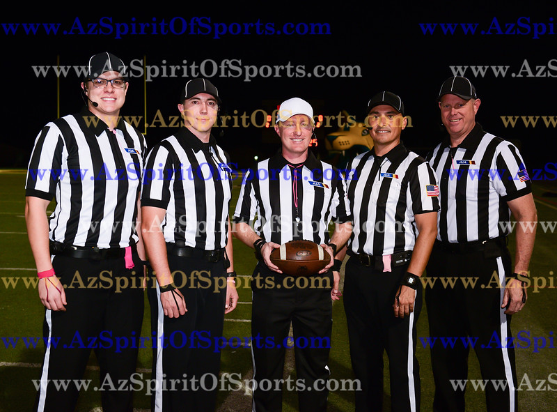 Football held at Home,  Arizona on 10/13/2017.
