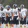 Mission Prep football visited Morro Bay High School for the first football game of the 2018 season. 8/17/186:01:00 PM <br /> <br /> Photo by Owen Main