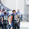 Mission Prep football visited Morro Bay High School for the first football game of the 2018 season. 8/17/185:57:32 PM <br /> <br /> Photo by Owen Main
