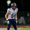 Mission Prep football played Orcutt Academy at Pioneer Valley High School in Santa Maria, CA. Photo by Owen Main. 10/26/18