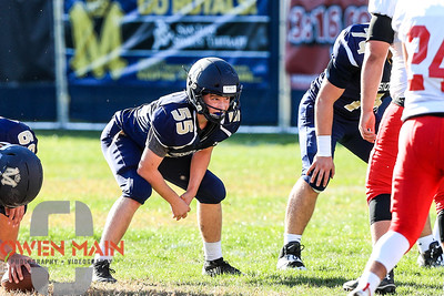 Mission Prep football hosted Santa Maria. Photo by Owen Main 10/18/19