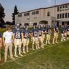Mission Prep football hosted Alpaugh for senior night in San Luis Obispo, CA. Photo by Owen Main. 10/19/18