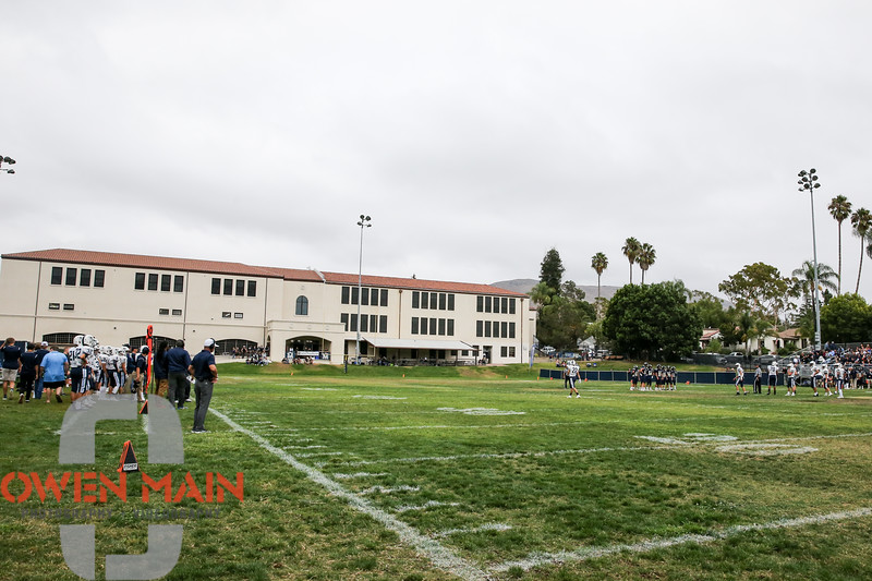 Mission Prep football hosted CVC. Photo by Owen Main 9/27/19