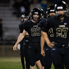 SLOHS Football hosted Bakersfield South for a first-round CIF Playoff game at San Luis Obispo High School. Photo by Owen Main. 11/2/18