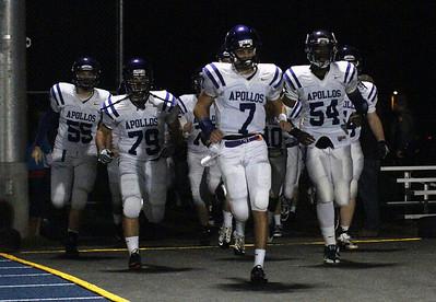 SunsetHS Varsity Football 20101029 vs Aloha