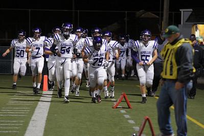 SunsetHS Varsity Football 20101105 vs Gresham Playoff