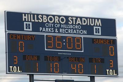 SunsetHS Varisty Football 20100910 vs Century