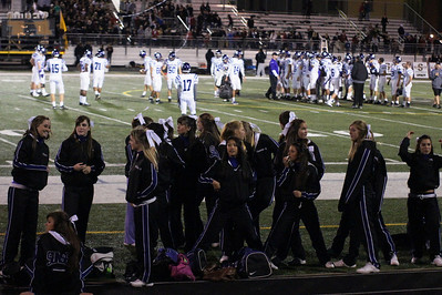 SunsetHS Varsity Football 20101015 vs Southridge-Cheer